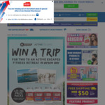 Win a Trip for 2 to Active Escapes Byron Bay Fitness Retreat or 1 of 25 Minor Prizes from Chemist Warehouse