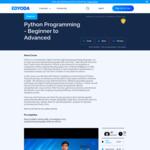Free Course: Python Programming - Beginner to Advanced @ Edyoda