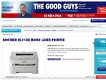 Brother HL-2130 MONO Laser Printer for $44 at The Good Guys VIC