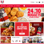 $2 Large Chips (App Only) | $10 24 Nuggets @ KFC