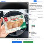 Free 6 Pack Krispy Kreme Doughnut Bites @ 7-Eleven via App (Excludes SA & TAS)