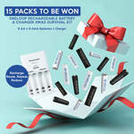 Win 1 of 15 Eneloop 'Christmas Survival Kits' from Panasonic