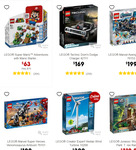 20% to 40% off LEGO: 60203 City Town Ski Resort $83, LEGO 21316 The Flintstones $69 @ Target