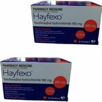 140x Hayfexo Fexofenadine Hydrochloride 180mg Tablets (Generic Telfast) $26.98 Shipped @ PharmacySavings