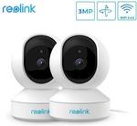Reolink E1 WiFi Camera - 2 Pack (3 Megapixel, Pan/Tilt, Night Vision, Motion Detection) $69.99 Delivered @ Kogan