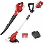 Ozito PXC 18V Blower and Grass Trimmer Kit Inc 2.5ah Battery $99 @ Bunnings