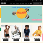 40% off Everything + Free Shipping @ Bonds