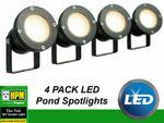 4x HPM 12V TULI LED Garden Pond Light 3.5W MR16 IP68 Waterproof DIY $99 Delivered @ Eeet5p via eBay