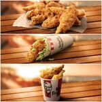 [iOS] 10 Tenders for $10, Twister $5, Tender Go Bucket $2.50 @ KFC App (Direct App Link Required)