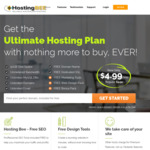 50% off Ultimate Hosting Plans - $59.94 1 Year, $119.88 for 2 Years, $179.82 for 3 Years @ HostingBee