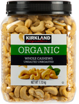Kirkland Signature Organic Unsalted Cashews 2x 1.13kg $39.99 Delivered @ Costco (Membership Required)