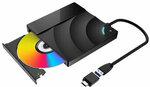 BlitzWolf BW-VD2 External Blu-Ray DVD Drive 3D 4K Player USB3.0+Type-C Ports for WIN/MAC US$68.99 or A$90.53 @ Banggood