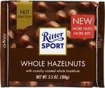 ½ Price Ritter Sport Chocolate $1.95, Loacker Gardena Chocolate Milk Wafers $0.95, Decor Storage Containers @ Woolworths