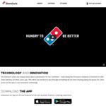 50% off Premium, Super Premium & Traditional Pizzas @ Domino's Pizza via App