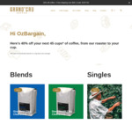 Specialty Coffee Blends & Single Origins 1kg - $27- $30 + Free Delivery over $50 Order @ Grand'Cru Coffee
