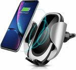 CHANSBO Wireless Car Charger Mount $18.14 (40% off, Was $32.99 ) + Delivery ($0 with Prime/$39 Spend) @ YUZHENYA via Amazon AU