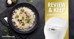 Win 1 of 10 Panasonic Rice Cookers Worth Up to $249 from Panasonic