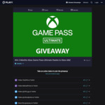 Win 3 Months of Xbox Game Pass Ultimate from MrBradPrime