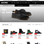 Selected Dr. Martens Footwear $69.99 (RRP $239.99-$289.99), NEW BALANCE 327 $34.99 + $10 Delivery ($0 C&C/ $130 Order) @ Hype DC