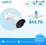 Reolink RLC-510A 5MP Poe IP Camera with Person/Vehicle Detection US$48.16 (A$67.33) Tax Included @Reolink via AliExpress
