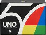 Mattel UNO 50th Anniversary Premium Edition Card Game $20.39 + Delivery (Free with Prime/ $39 Spend) @ Amazon AU