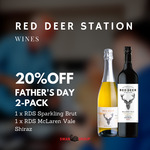 Red Deer Station 2-Pack Wine $37.60 Delivered @ Swan Wine Group