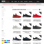 Extra 20% off Men's Footwear and Apparel + Delivery @ Stringers Sports