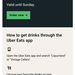 [VIC] Selected 6 Packs of Beer for $15 Delivered from Liquorland or Vintage Cellars @ Uber Eats