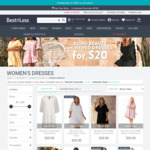Women's Tiered Dresses $20 + Delivery (Free C&C) @ Best & Less
