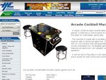 Arcade Cocktail Table with Free Delivery + Extras + 2 Years Warranty $1,599 - $1,995