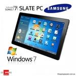 Samsung XE700T1A 64GB Slate PC Tablet $789.95 Delivered + Bonus $100 MasterCard Prepaid Card