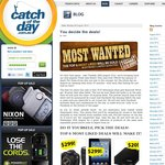 iPad $299, WD 500GB HDD $20, Samsung Galaxy SIII $399 and MORE @CatchOfTheDay!  Tues 11AM AEST