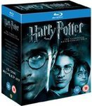 Harry Potter 1-8 Collection Blu-Ray @ Amazon UK $43 AUD Delivered