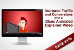 Custom Animated Video for Your Website: Save 41% ($250): Only $349