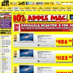 10% off Apple Macs at JB Hi-Fi - iPad and BTO Excluded