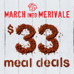 $33 Meal for 1 or 2ppl at Merivale Restaurants (Incl. 3 Hat 'Est.') ($20 if Using AMEX Offer) (SYD)