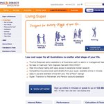 First Public Fee-Free Balanced Super Account from ING Direct