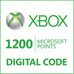 1200 Microsoft Points for $5