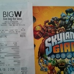 Skylanders Giants Starter pack $38 360/3DS/PS3/Wii U/Wii @ BigW