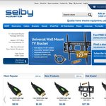 Selby Acoustics 15% off Everything, Sitewide* on All Orders over $50 (Free Shipping)