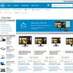 Dell up to 30% off Monitors 3 Day Sale (Monitors and Projectors) - U2713HM @ $580, U3014 @ $1252