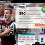 Free 14 Day Trial Foxtel Play for New Customers (Sports and Entertainment)
