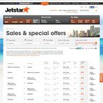 Jetstar EOFY Sale - Domestic From $29. Asia From ~$120