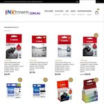 Genuine Canon Ink Sale Canon PG-510 Twin Pack $34.90 Canon 520 $17.90 from InkTown.com.au