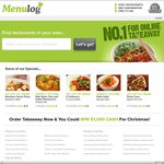10% off Menulog online orders (expires 16/11)