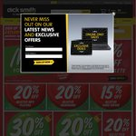Dick Smith Online from 5pm to Midnight Save $15 on Orders over $75