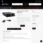 SMSL SA-60 ($104.95) and SMSL Q5 ($124.95) Class D Amplifiers (Save $25) @ Voll Audio