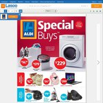 ALDI Special Buys: Paper Shredder $99.99, Steam Iron $14.99, Mixer Tap $49.99 + More - Next Week