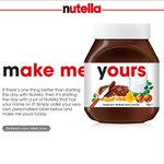 Nutella Free Label if You Buy 750g Nutella at Coles/Woolworths/BigW - $6.50 at Coles
