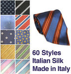 Last Tie Sale: 90% off Mens Avenue Italian Silk Ties - 60 Styles - $3 + $2 Post or Free for 5+ @ Avenue Clothing